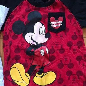2 Disney T-Shirt Bundle - 4T